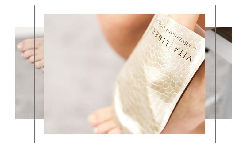 Vita Liberata application feet